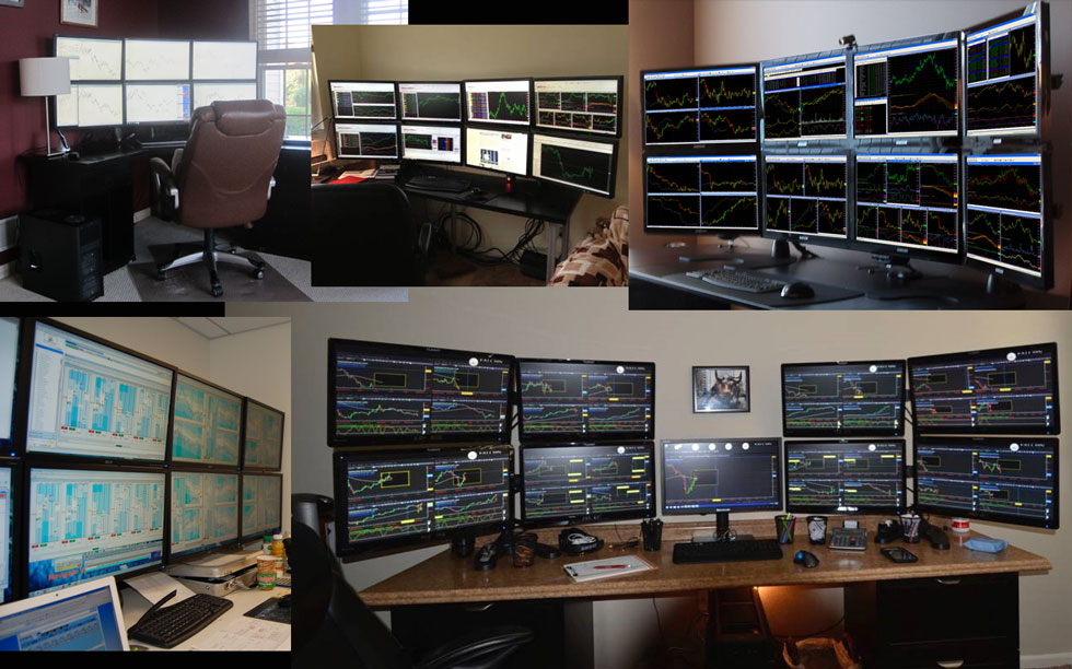 how to set up trading platform on dual monitors